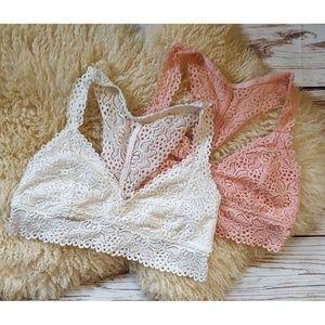 ♡ Maurices Lace Bralette Bundle | Large ♡